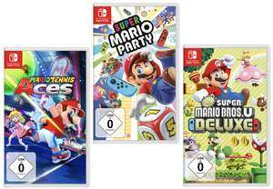 33% auf Mario Party Switch und andere Mario Games