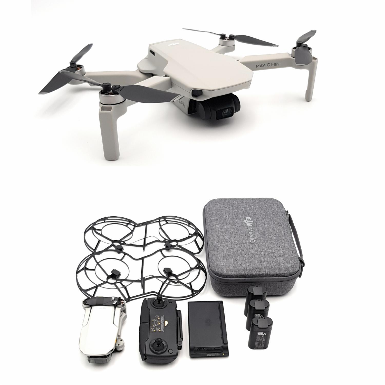 [dealclub] DJI Mavic Mini Drohne Fly More Combo HD Kamera 2,7K Drone Zubehör Kit 12 MP weiß