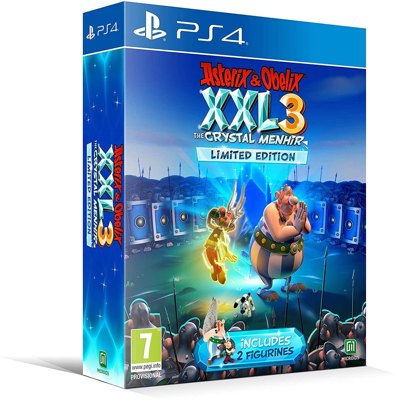 Asterix & Obelix XXL 3 - Der Kristall-Hinkelstein Limited Edition inkl. 2 Figuren (PEGI) [Playstation 4]