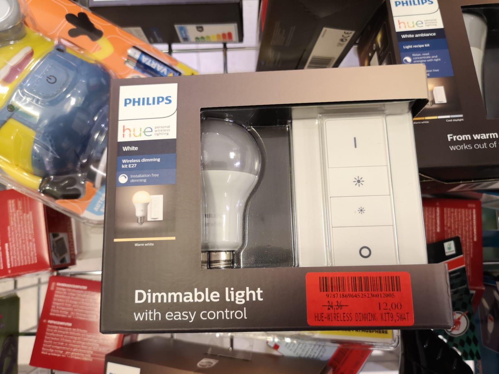 [LOKAL] Philips Hue LED White Amb. Light Recipe Kit inkl. Dimmschalter, E27 (Marktkauf Bremen)