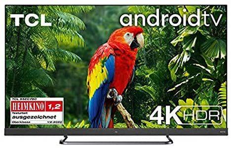 TCL 55EC780 LED TV (Flat, 55 Zoll / 139 cm, UHD 4K, SMART TV, Android TV 9.0) [Mediamarkt]