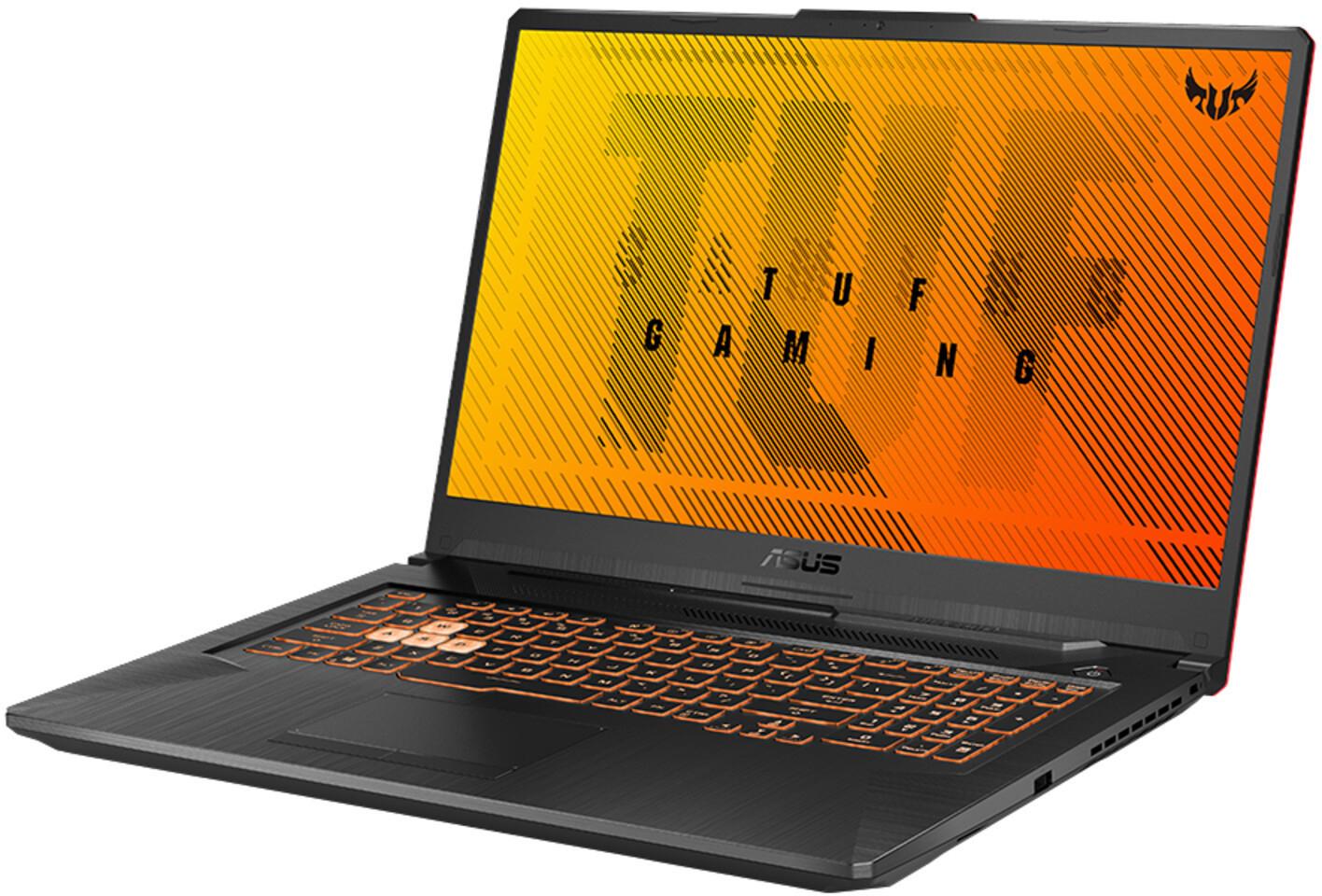 "ASUS TUF Gaming A17 - 17.3"" FHD IPS, Ryzen 5 4600H, 8GB RAM, 512GB SSD, GTX 1660 Ti 6GB, USB-C 3/ DP, Wlan ac, Win10 für 830.34€"