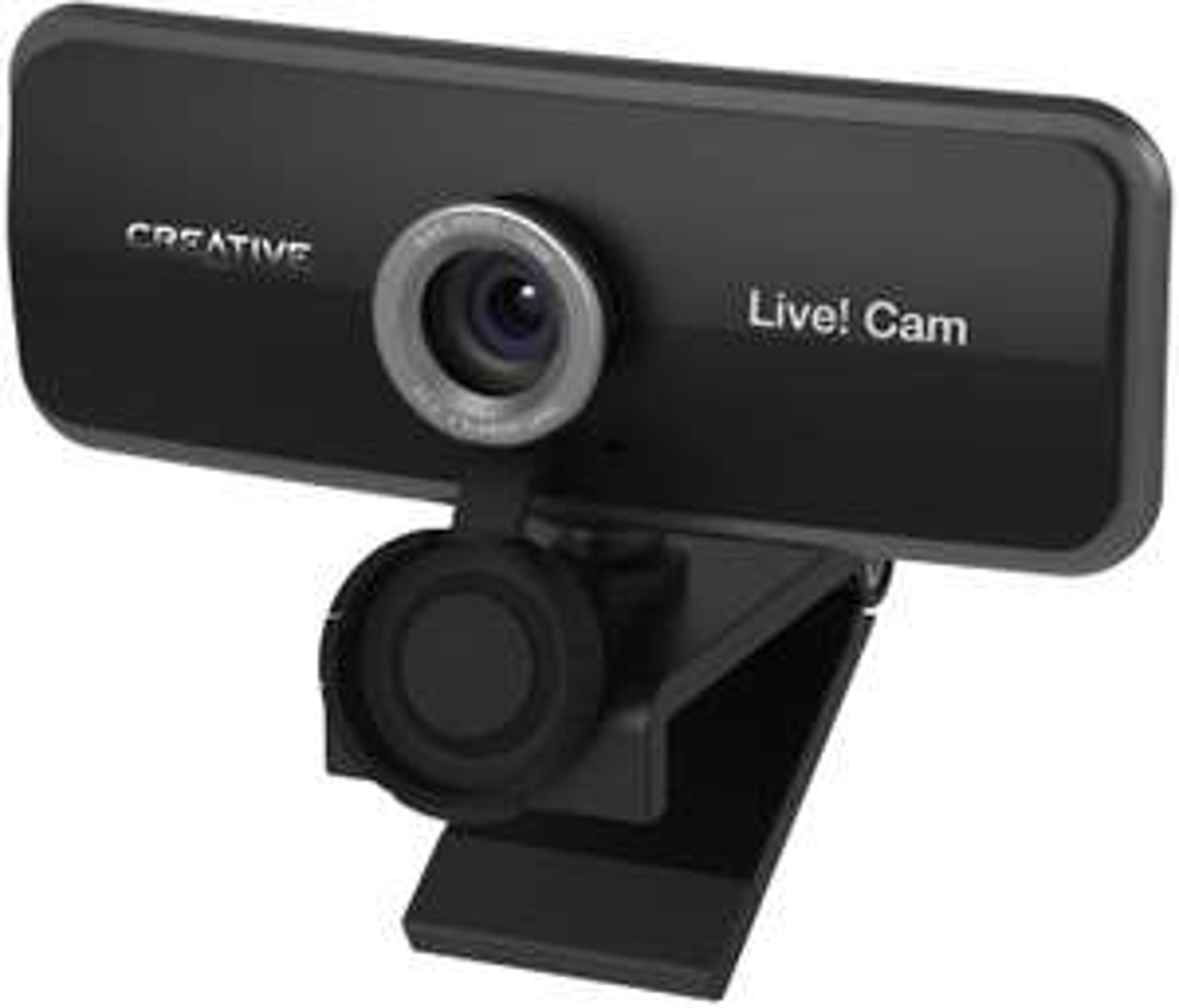 CREATIVE Live! Cam Sync 1080p - Full HD-Weitwinkel-Webcam mit integriertem Dual-Mikrofon