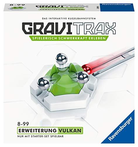 Ravensburger GraviTrax Erweiterung Vulkan - Ideales Zubehör für spektakuläre Kugelbahnen, für Kinder ab 8 Jahren (Amazon Prime)