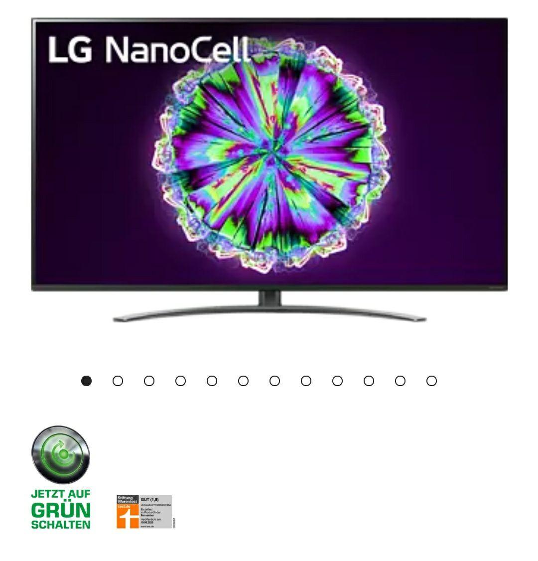 LG 55NANO816NA 55 Zoll NanoCell IPS 4k Fernseher zum Bestpreis