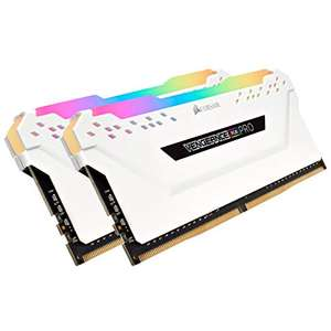 Kit Memory DDR4 Corsair Vengeance RGB PRO 32GB XMP 2.0 Enthusiast (2x16GB) 3200MHz, CL16, weiß