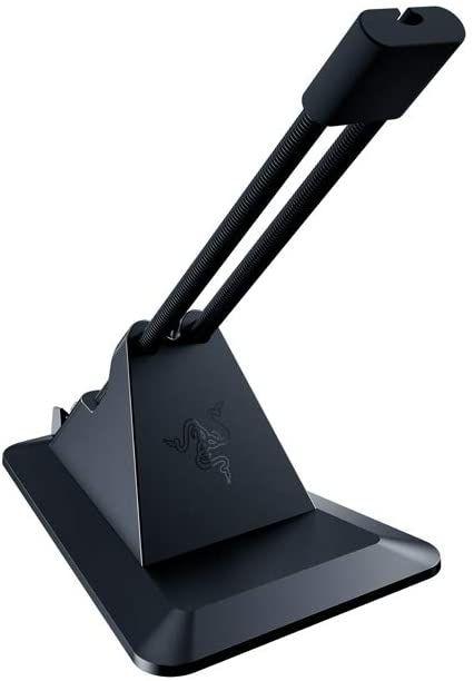 Razer Mouse Bungee V2 Zugfreie Kabelführung (bis zu 3,2 mm, mit Rostfreiem Federarm, Anti-Rutsch Füßen [Amazon Prime]