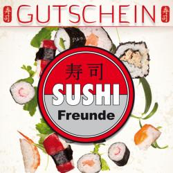 [Lokal] Sushifreunde Gutscheine 3€/20€, 10€/40€, 30€/100€