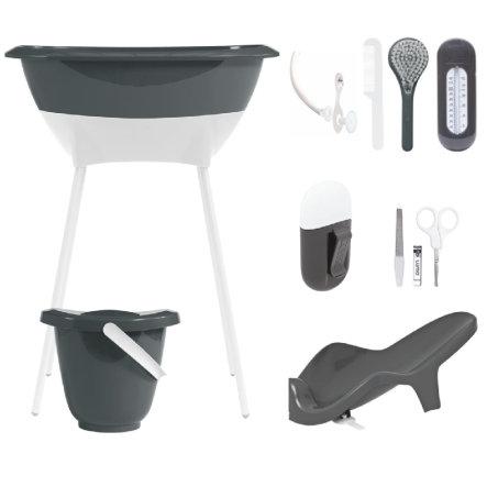 Luma® Babycare Bade- und Pflegeset Dark Grey