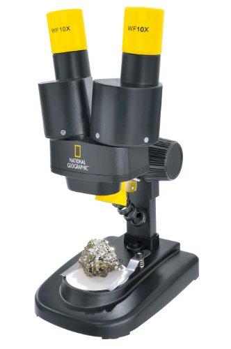 [Amazon] National Geographic Stereo 3D Mikroskop mit 20x Vergrößerung und Auflichtbeleuchtung für Kinder und Erwachsene
