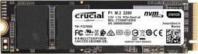Crucial P1 500GB SSD (M.2, 3D-NAND QLC, R1900MB/s, W950MB/s, 512MB DDR3 + 5-50GB SLC-Cache, 5J Garantie/100TBW) +++ 1TB für 78,41€