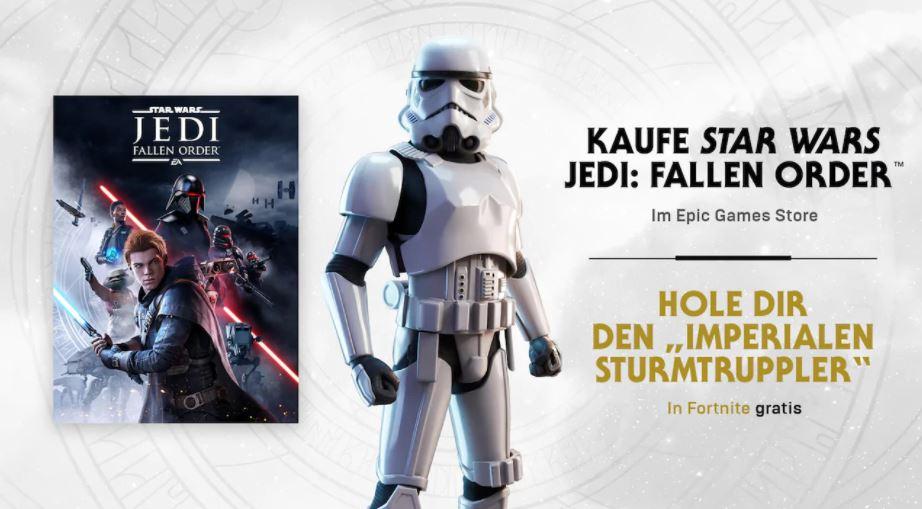 [EPIC GAMES] Star Wars Fallen Order 19,99 oder Deluxe 24,99 mit 10 Euro Gutschein