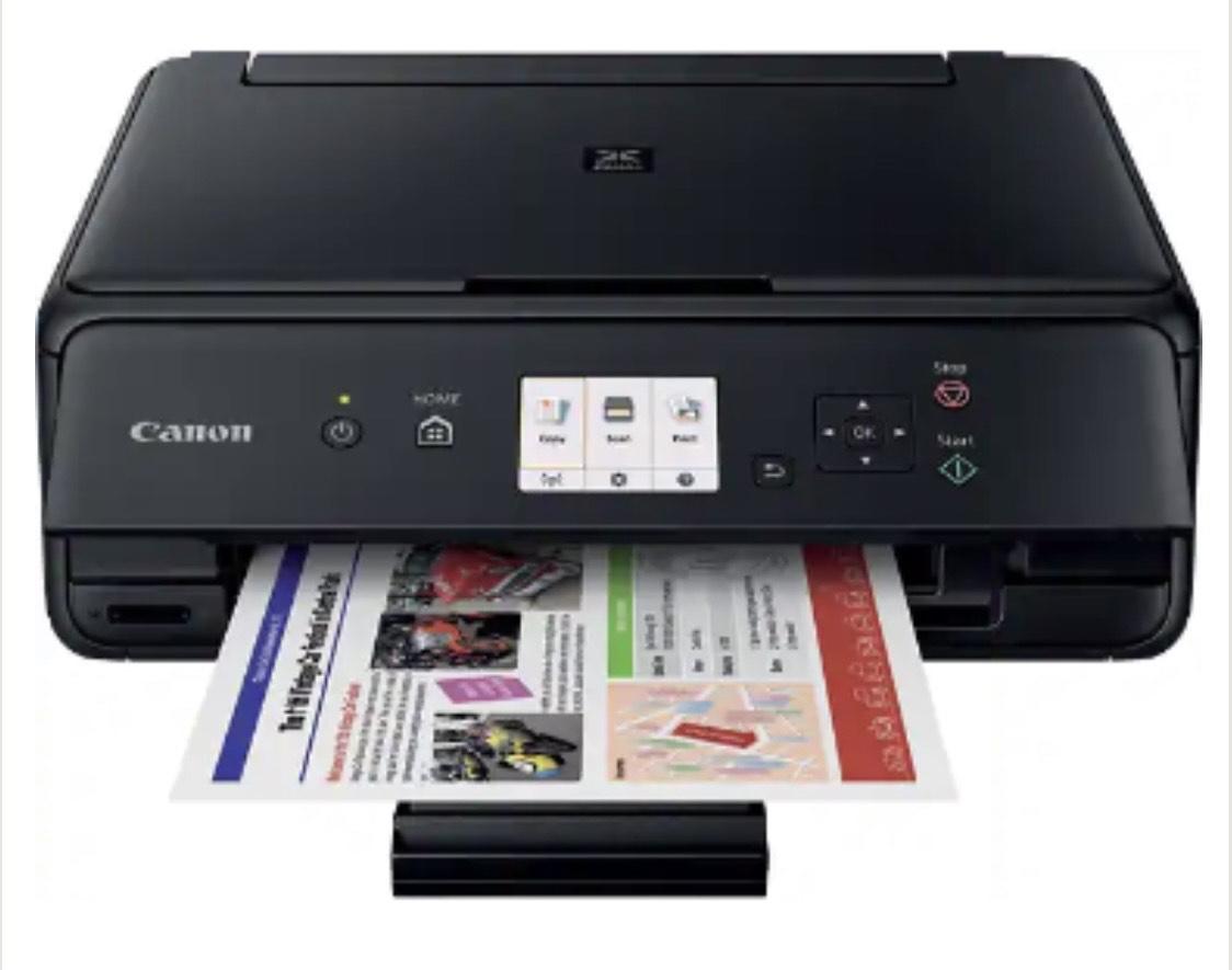 Canon PIXMA TS5050 - Multifunktionsdrucker mit WLAN (Drucken, Scannen, Kopieren)