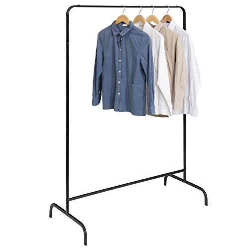 Universal Kleiderständer / Garderobe schwarz, belastbar bis 40kg @Amazon Marketplace