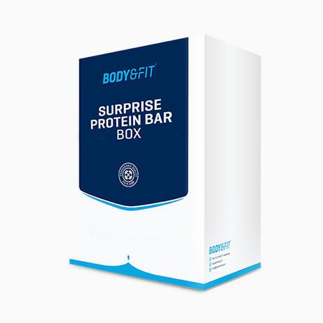 4x Surprise Protein Bar Box von Body & Fit (jeweils 10 Riegel, ~0,62€ Stückpreis)