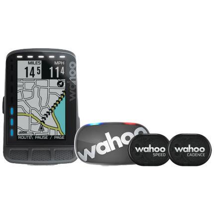 Wahoo Fitness ELEMNT ROAM GPS Bundle (Herzfrequenz, Trittfrequenz, Geschwindigkeit)