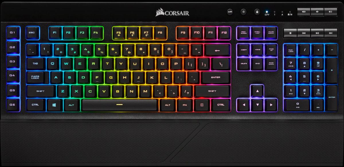 CORSAIR K57 RGB, wireless Gaming Tastatur