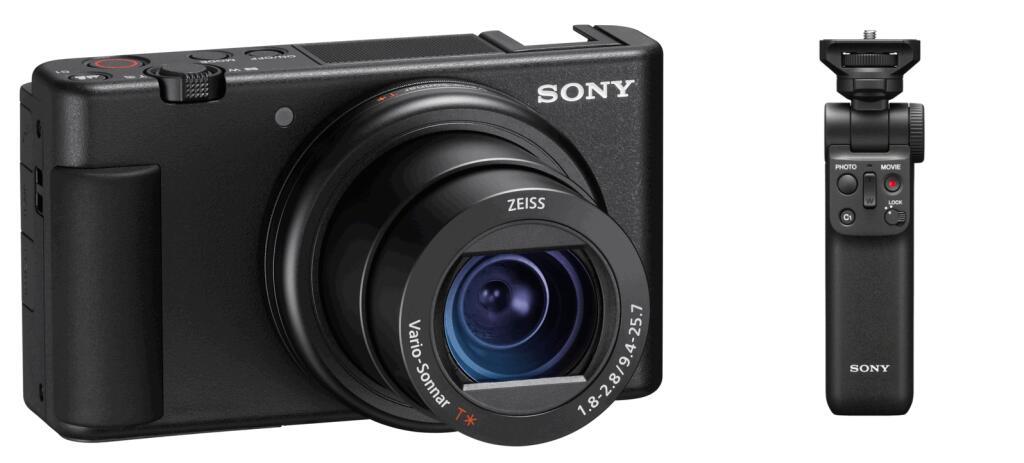 Sony ZV-1 Vlog-Kamera + Sony GP-VPT2BT Wireless Grip für 705,47 € (Media Markt)