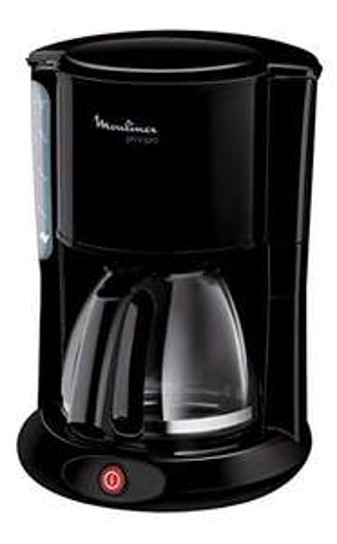 [Amazon Prime] Moulinex FG260811 Glas-Kaffeemaschine, schwarz, Automatische Abschaltung, Kapazität für 10 bis 15 Tassen