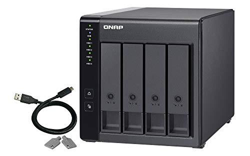 QNAP TR-004 USB 3.0-RAID-Erweiterungsgehäuse mit 4 Einschüben