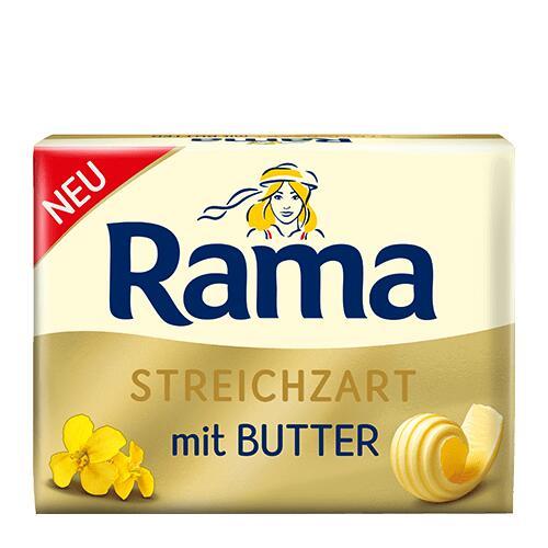 [Kaufland + Wasgau] RAMA Brotaufstrich mit Butter ab 0,77€ + Cashback 0,40€