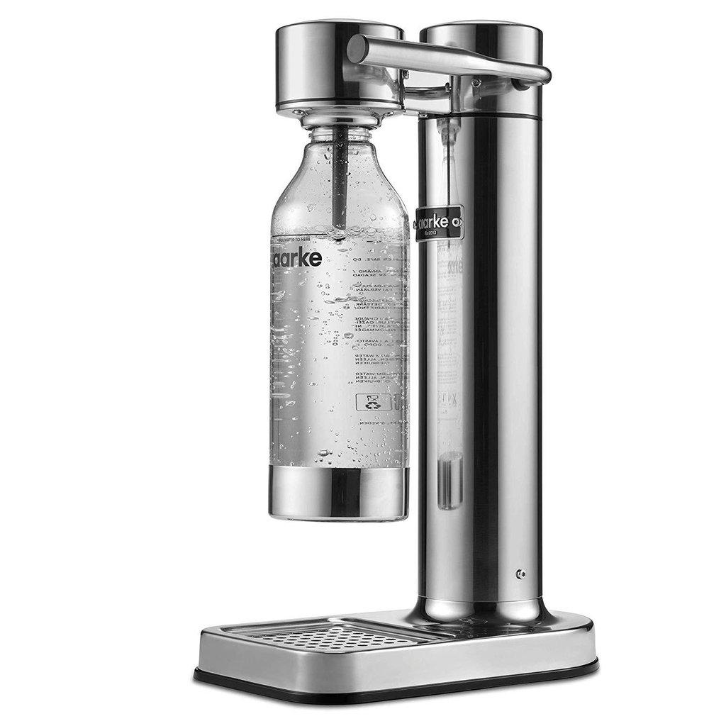 AARKE C2 Carbonator II Wassersprudler Silber AA01