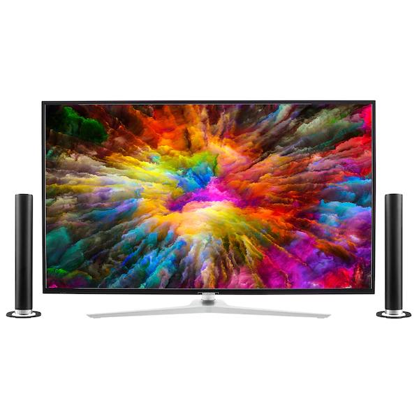 "Medion Life X15010 + Soundbar P61202 (50"", UHD, VA, 60Hz, 350cd/m², Dolby Vision, 4x HDMI 2.0, Smart TV inkl. Netflix & Prime Video, DTS)"