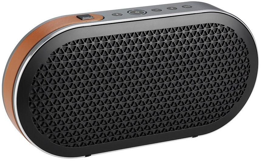 Dali Katch Bluetooth-Lautsprecher schwarz (2x 25W, BT4 + aptX, AUX-In, ~24h Akkulaufzeit, Netzbetrieb optional, 269x138x47mm, 1.2kg)