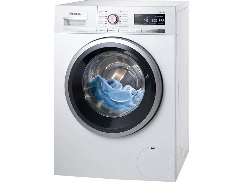 [mediamarkt] SIEMENS WM14W5FCB iQ700 Waschmaschine (9 kg, 1361 U/Min., A+++) mit Abholung