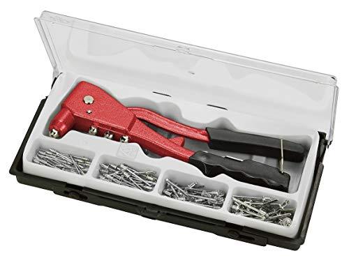 kwb Blindnietzange Set, Niet-Zange inkl. 100 Aluminium-Nieten (Prime)