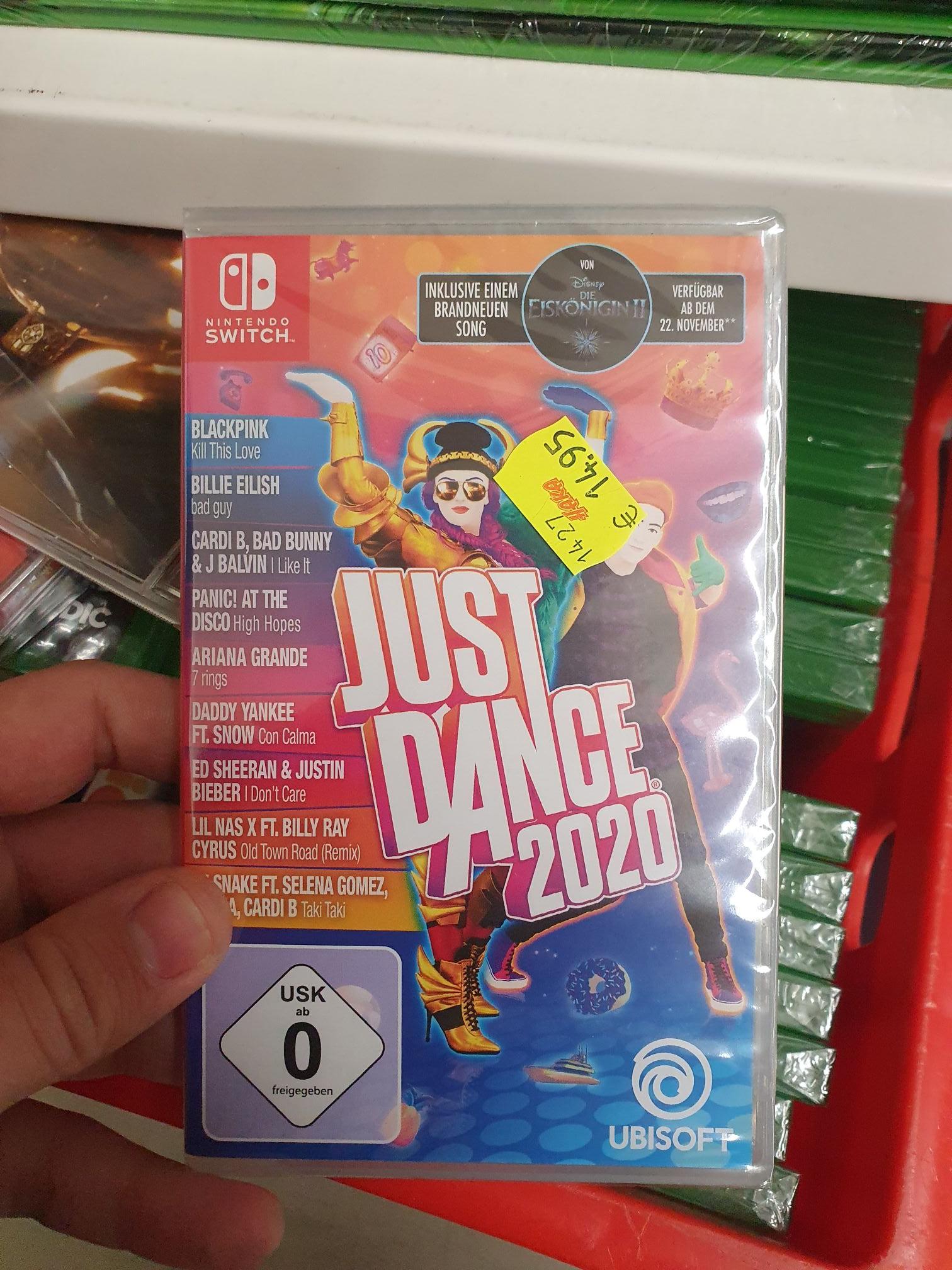 [Lokal Leer Haka] [Offline] Nintendo Switch - Just Dance 2020 14,95€