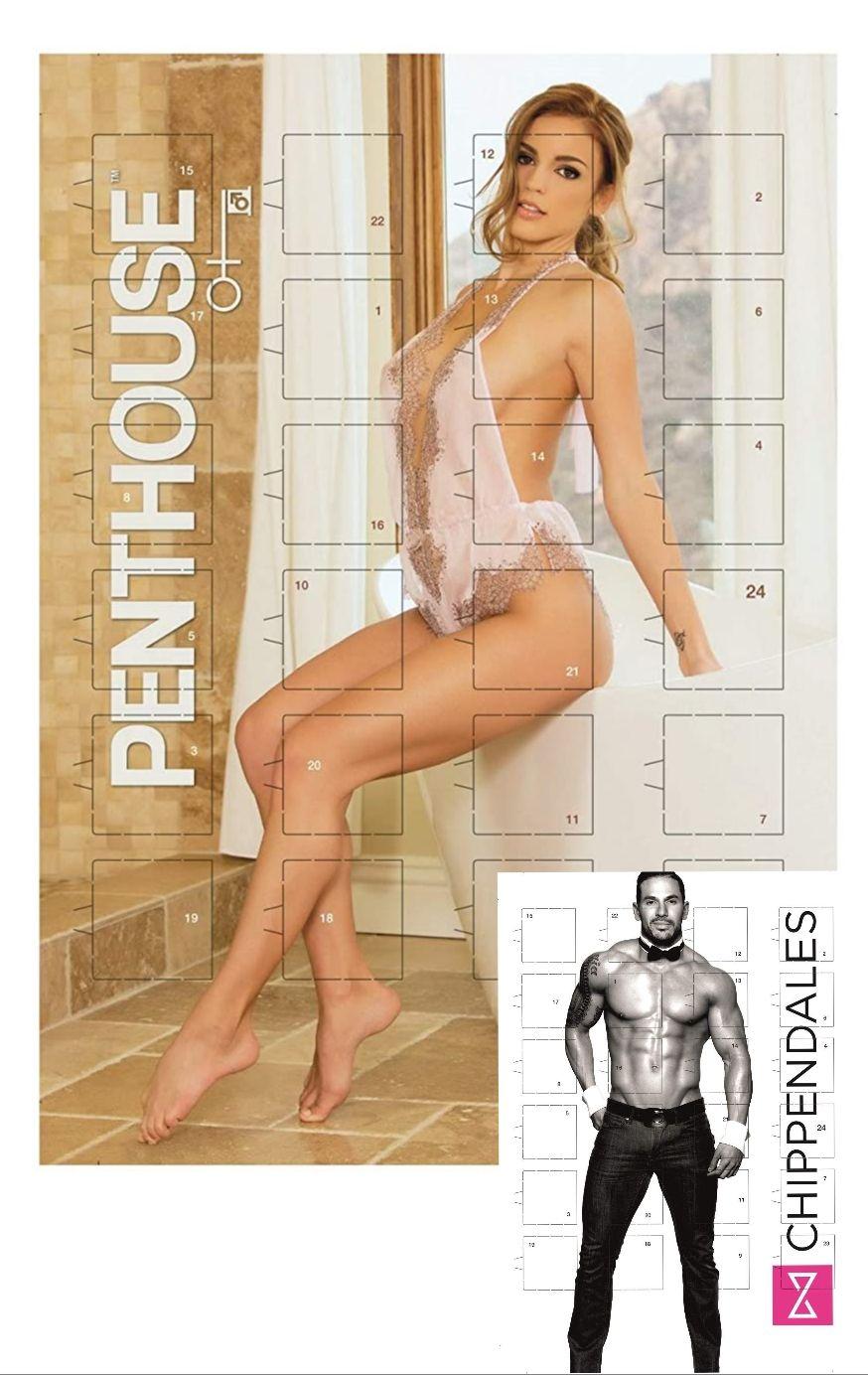 Adventskalender Penthouse oder Chippendales mit Vollmilch-Schokolade, Thomas Philipps