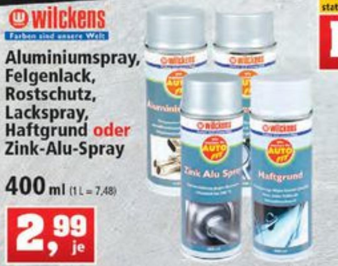 [ Thomas Philipps ] Wilckens Auto Fit Spray 400ml Haftgrund Rostschutz Felgenlack Aluspray Zink