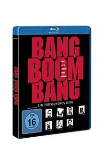Bang Boom Bang - Ein todsicheres Ding Blu-ray für 4,66€ (Amazon Prime & Media Markt Abholung)