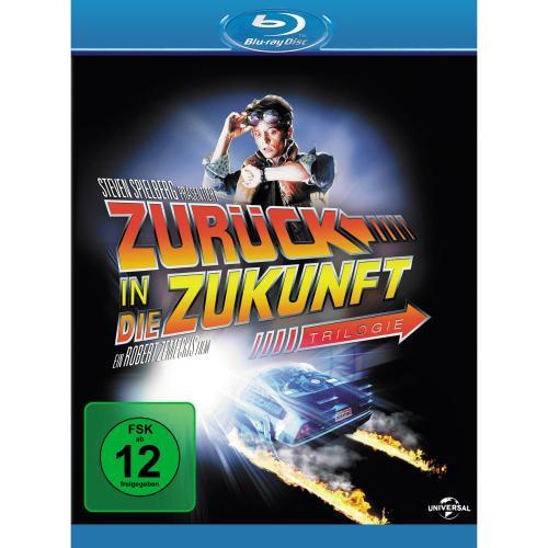 Zurück in die Zukunft Trilogie [Blu-Ray] [Collectors-Edition]