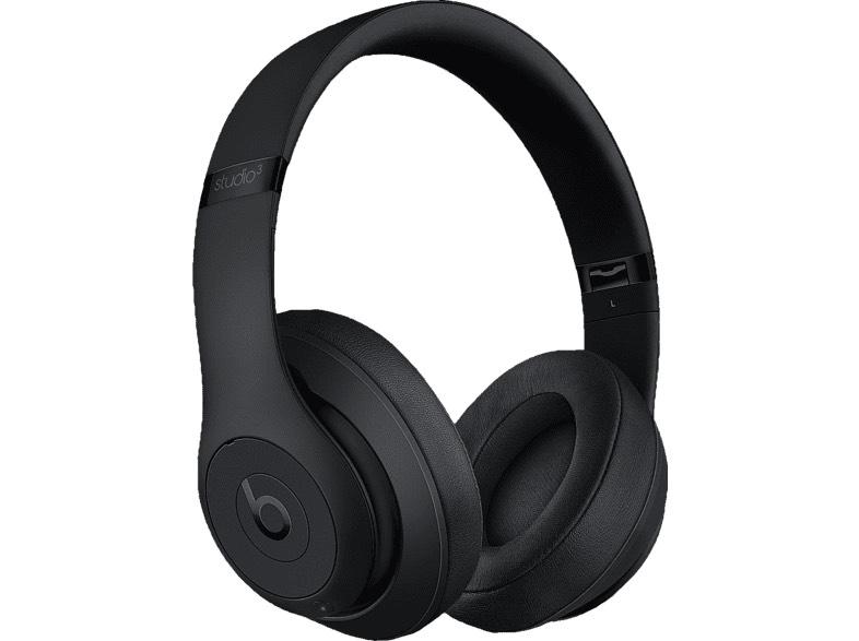 BEATS Studio3 Wireless, Over-ear Kopfhörer Bluetooth Matte Black
