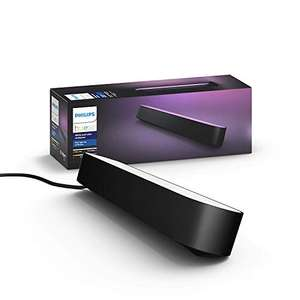 Philips Hue White and Color Ambiance Play Lightbar, Erweiterung, Schwarz (Amazon Prime)