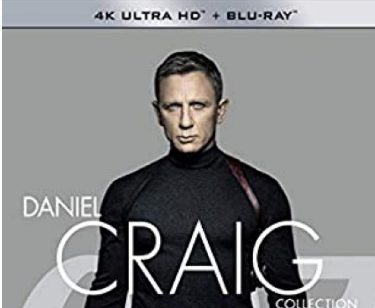 James Bond Collection 4K Daniel Craig