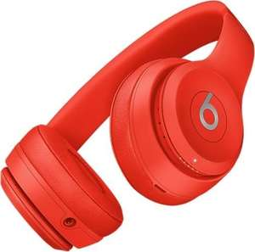 BEATS Solo 3 Wireless, On-ear Kopfhörer Bluetooth Rot [Saturn]