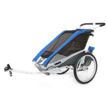 Thule Kinderfahrradanhänger Chariot Cougar 1 Blue für 439,99€ [Babymarkt-Geburtstagscoupons]