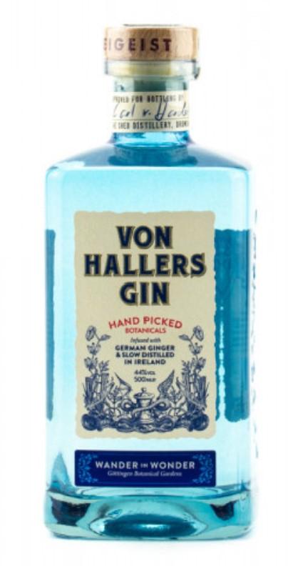 VON HALLERS GIN – Der Gin für Entdecker 0,5l [Real]