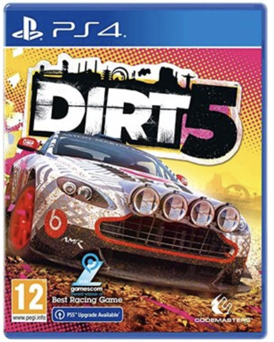 (Base.com) Dirt 5 PlayStation 4 (Upgrade auf PS5 Version)
