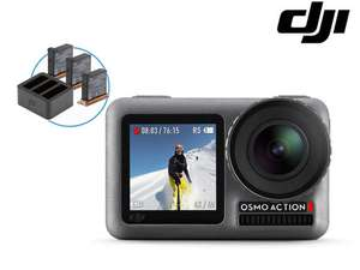 DJI Osmo Action inkl. 3 Akkus und Ladegerät (iBood)