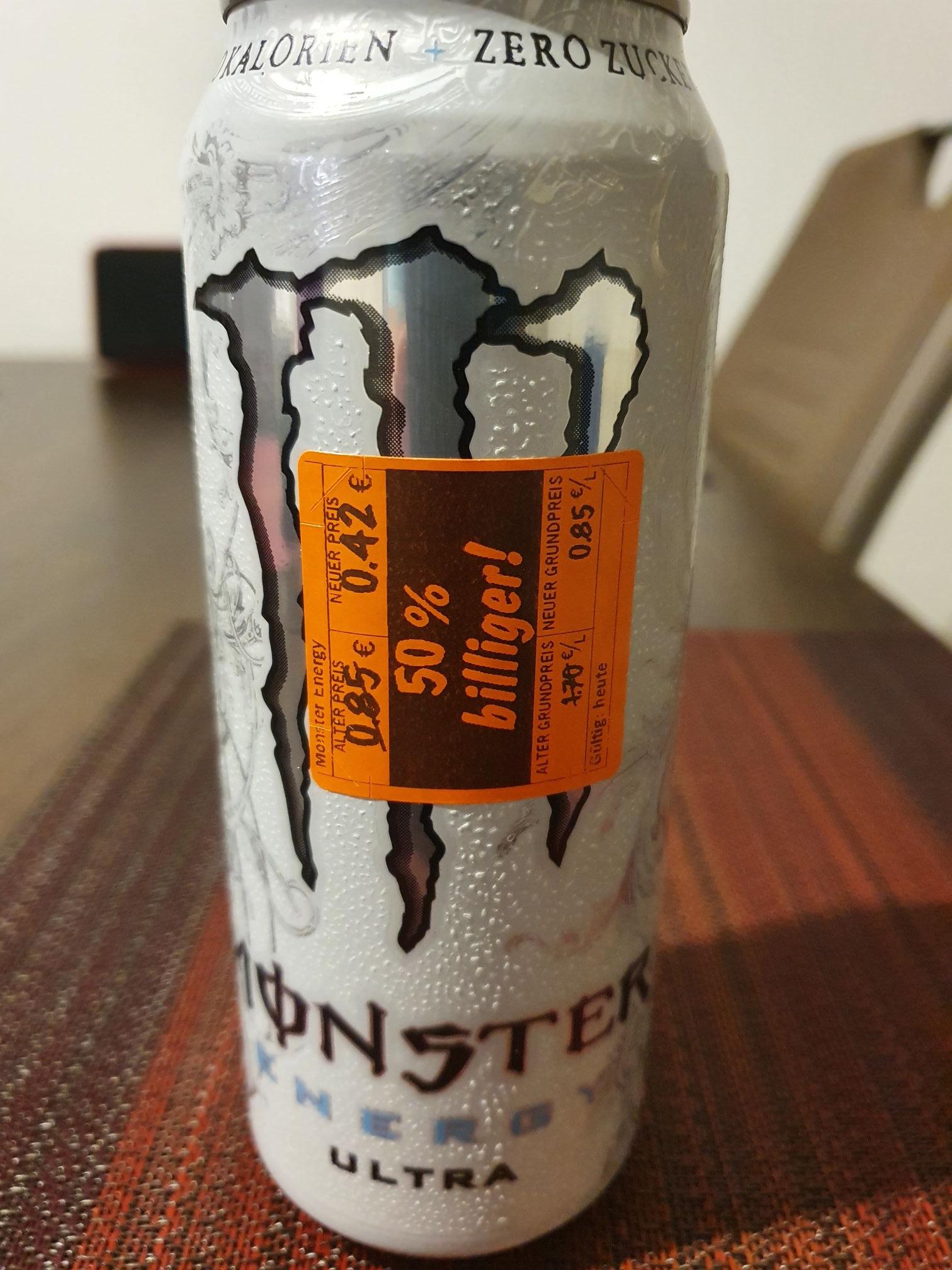 (LOKAL LIDL KELHEIM)Monster Ultra Energy Drink