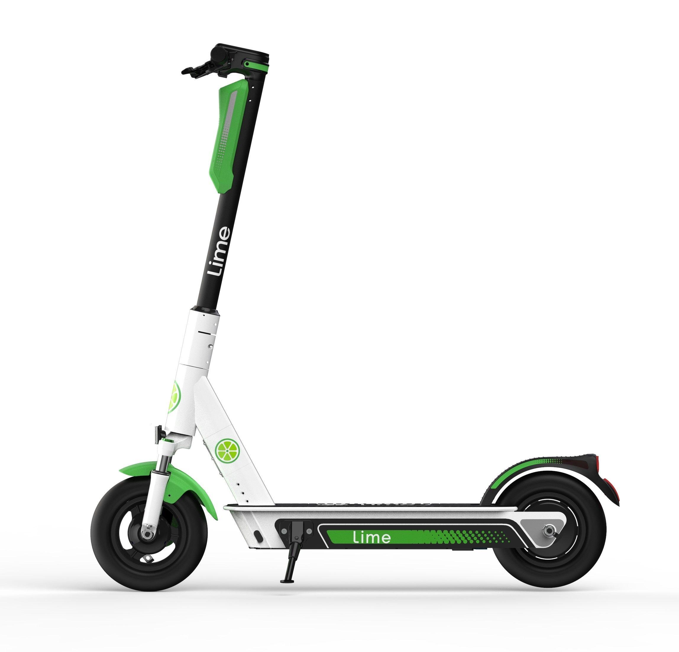 Lime E-Scooter 2 mal bis 30 Minuten kostenlos fahren. (FAKEGPS USA)