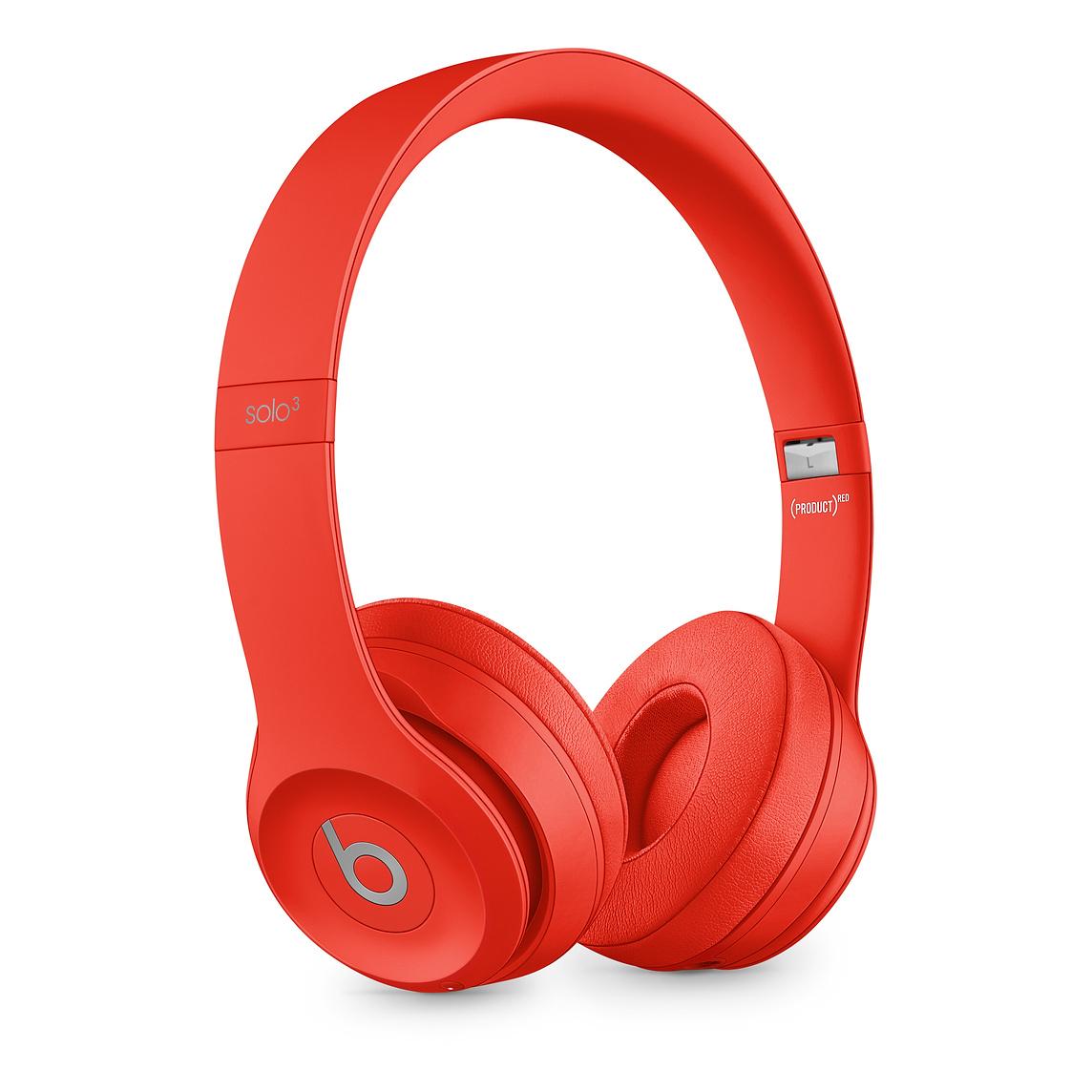 BEATS Solo 3 Wireless, On-ear Kopfhörer Bluetooth Rot