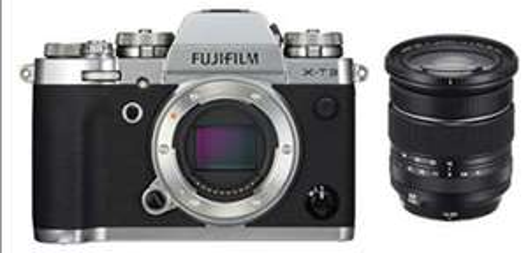 Fujifilm X-T3 Kit inkl. XF16-80mmF4 R OIS WR