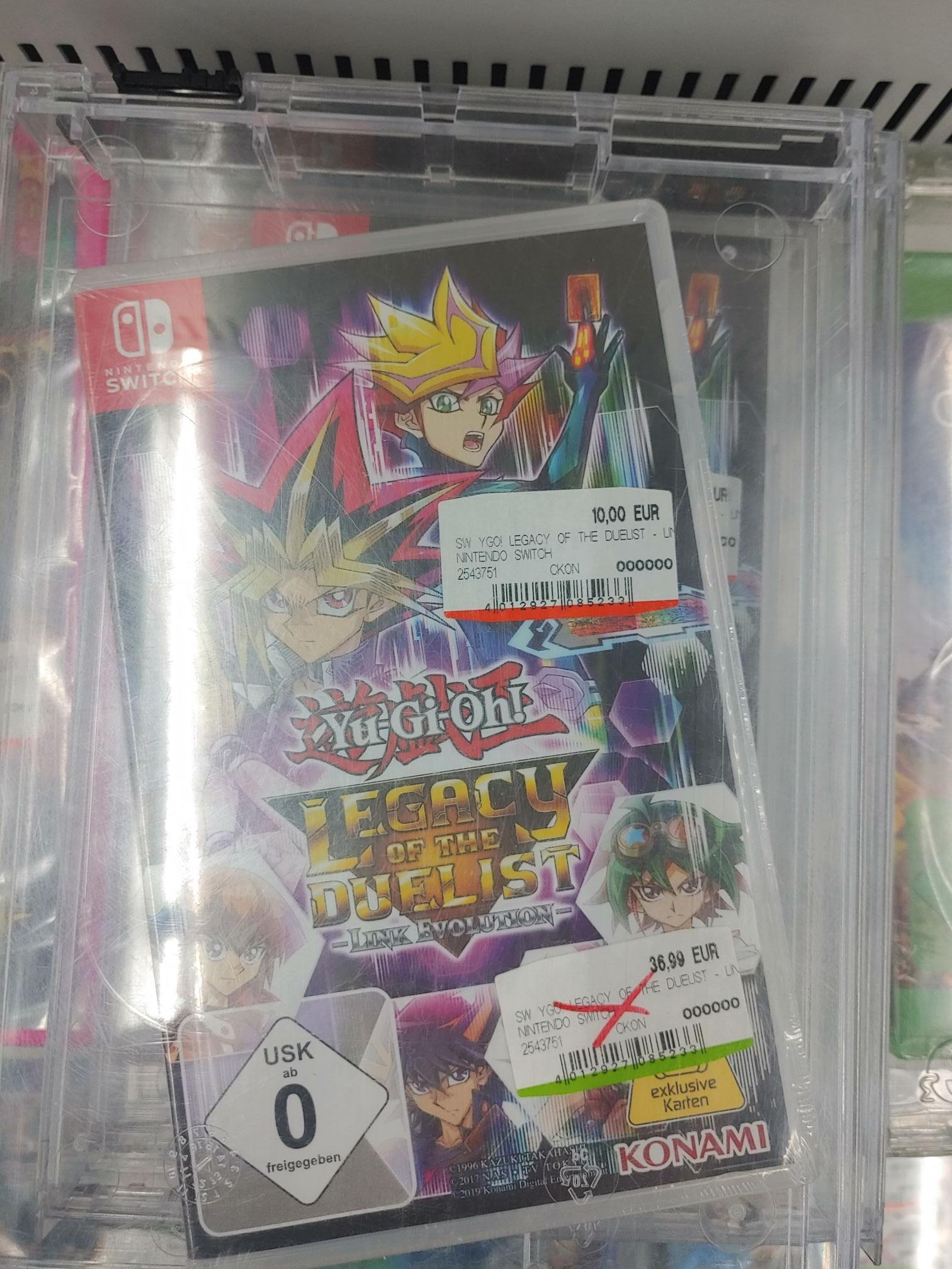 Lokal Media Markt Saarlouis Yu-Gi-Oh! Legacy of The Duelist: Link Evolution Nintendo Switch
