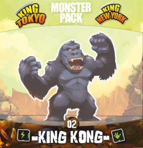 Brettspiel King of Tokyo Erweiterung Monster Pack King Kong