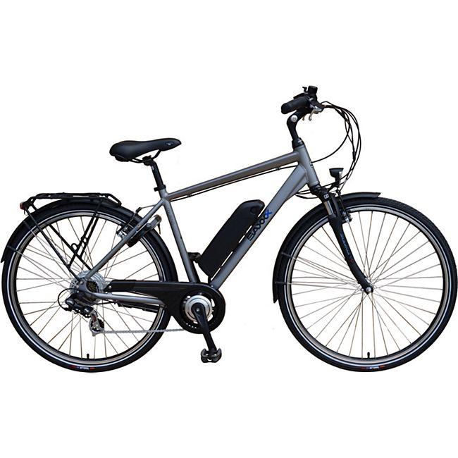 SAXXX Touring 10,4Ah 250W Shimano 7-Gang E-Bike - 36V, Silber/Matt, RH 50, mit DeutschlandCard 818,48 € nur 25.10.